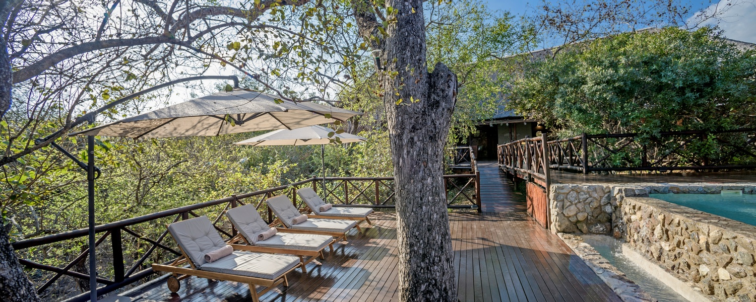 Kruger National Park Pool Deck